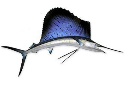 Sailfish Mount Replica 3 1/2 ft